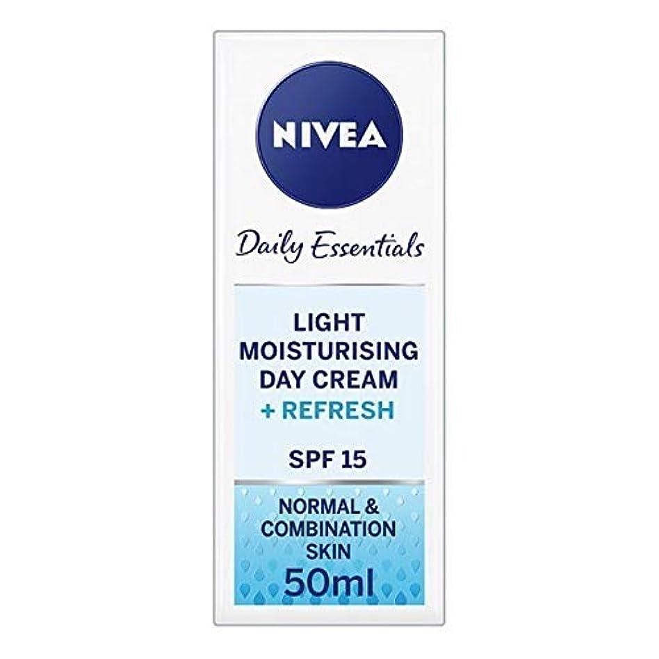 語ペフ予見する[Nivea ] ニベアフェイスクリームライトモイスチャライザー、50ミリリットル - NIVEA Face Cream Light Moisturiser, 50ml [並行輸入品]