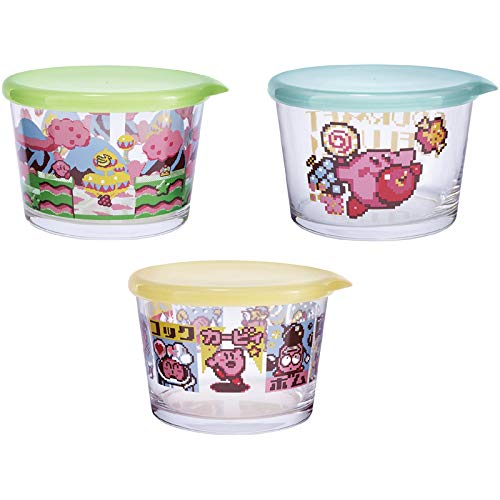 Kirby Star Ichiban Kuji Glass Collection All 2 type Set D Prize Gourmet Deluxe