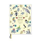 オリエンタルベリー 手帳 2020年 B6 マンスリー ボーオワゾー Bird's Paradise DM-6970 (2019年 10月始まり)