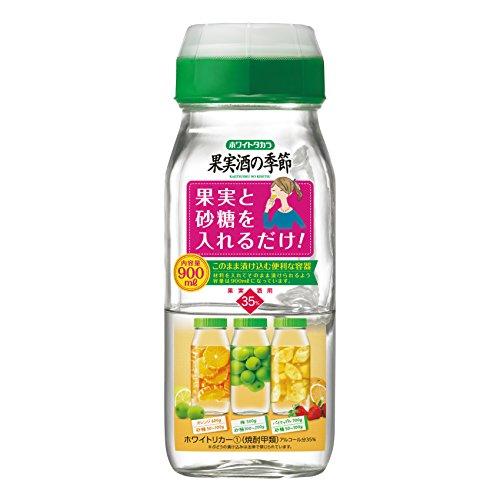 甲類35° 焼酎 果実酒の季節 デカンタ 900ml