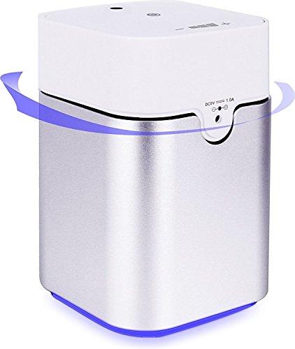 ENERG ネブライザー式アロマディフューザー ヨガ室 整体院人気 タイマー機能 量調整可能 精油瓶3個付き T11-ENS082