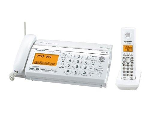 デジタルコードレスFAX 子機1台付き ホワイト KX-PW320DL-W