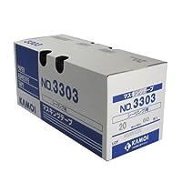 カモ井 シーリング用紙粘着テープ 20ミリ×18M 60巻入