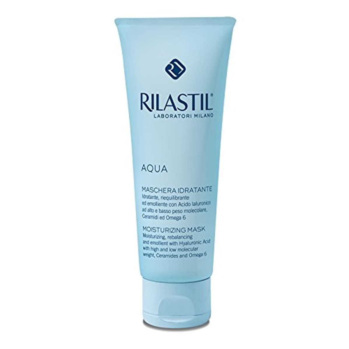 肥料過言別のRilastil - AQUA Moisturizing Mask (75 ml) [並行輸入品]