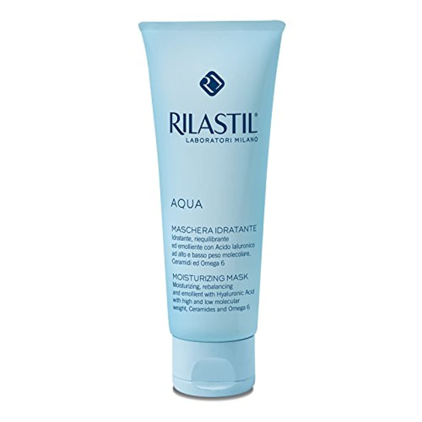 一致夕食を食べる千Rilastil - AQUA Moisturizing Mask (75 ml) [並行輸入品]