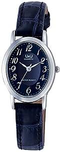 [シチズン キューアンドキュー]CITIZEN Q&Q 腕時計 スタンダード アナログ表示 3気圧防水 ネイビー VZ89-305 レディース