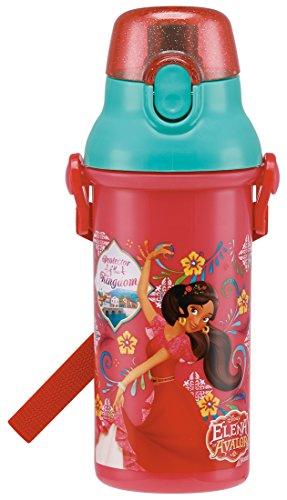 スケーター 直飲み 水筒 プラワンタッチ ボトル 480ml アバローのプリンセス エレナ ディズニー PSB5SAN