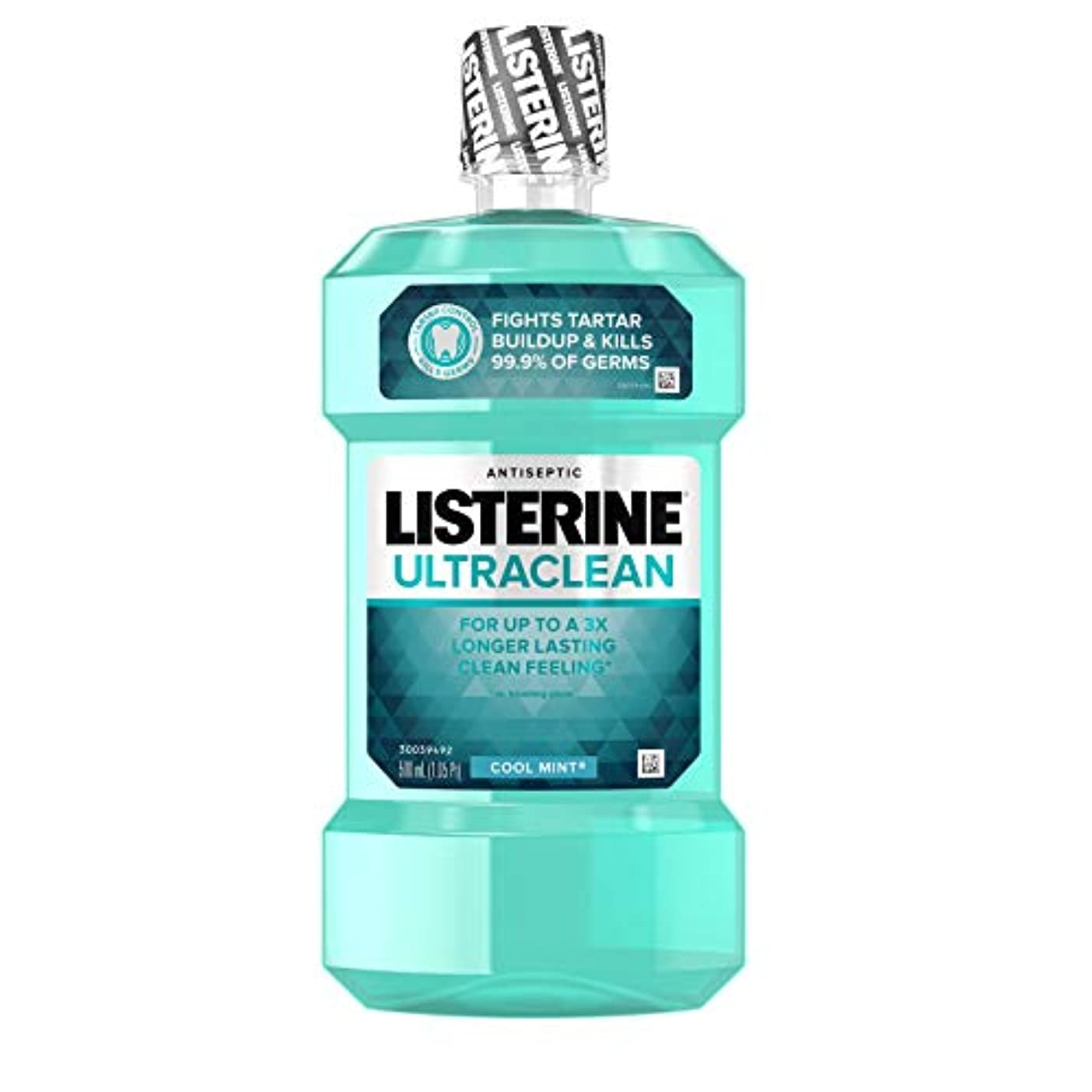 エミュレーション色合い告発2 Pack of Listerine Ultraclean Mouthwash , Cool Mint, 16.9 Ounce by Listerine
