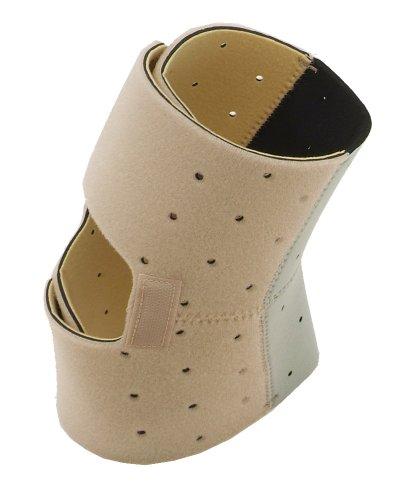 ヘルスポイント(Healthpoint) 楽歩ひざ立体サポーター ベージュXグレー 0303RF