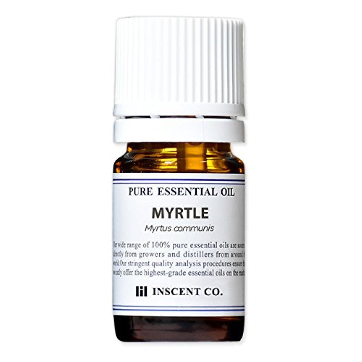 バイオリン百科事典限りマートル 5ml インセント アロマオイル AEAJ 表示基準適合認定精油