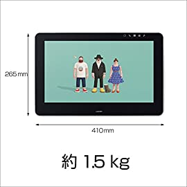 【Amazon.co.jp限定】ワコム 液タブ Wacom Cintiq Pro 16 HDMI接続対応 アマゾンオリジナルデータ特典付き TDTH-1620/AK0