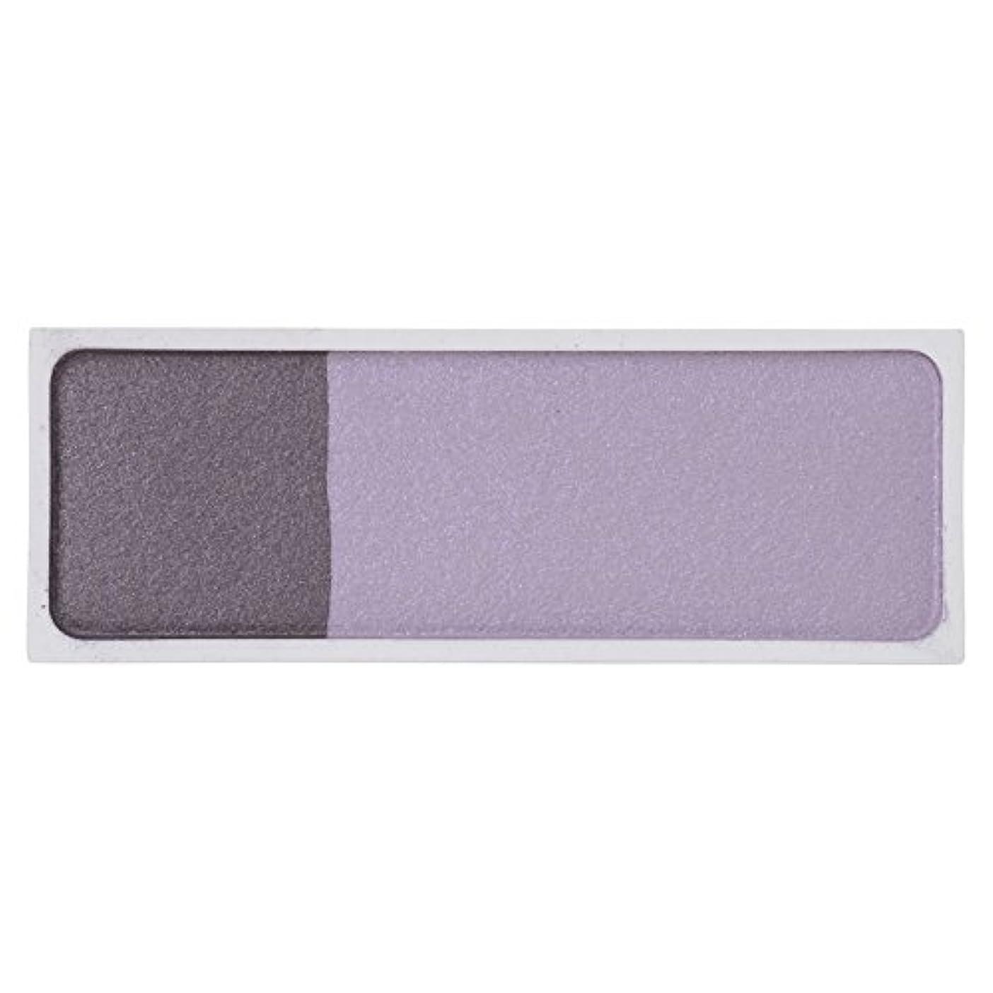 ひらめき用心するフェローシップMAMEW(マミュ) カラーコレクション2H-アイシャドウ 2色入り パープル