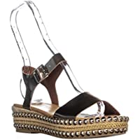 André Assous Womens Vergie Fabric Open Toe Special Occasion Espadrille Sandals US
