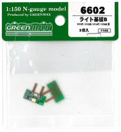 Nゲージ 6602 ライト基板B 2ケ入
