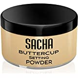 BUTTERCUP POWDER. No ashy flashback in selfies & photos. Flash-friendly loose face powder for Medium to Deep skin tones 1.25 oz
