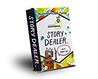 Story Dealer Steam/STEM Games for Kids | D.I.Y Makerspace Edition | Educational and Fun Storytelling Cards to Start Creative Thinking Games. [並行輸入品]