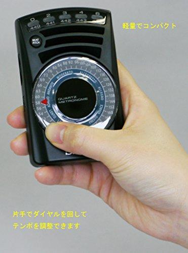 SEIKO(セイコー)『ダイヤル式メトロノーム(SQ60)』