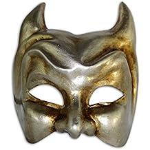 Venetian Half Face Mask Diavolo for Men