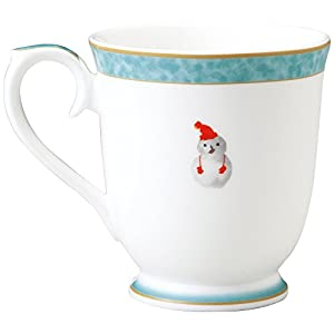 NARUMI(ナルミ) いわさきちひろ マグカップ(赤い毛糸帽の女の子) 290cc 50442-2635 日本製