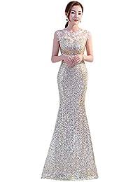 915ca5bdf7fb0 Amazon.co.jp  ベージュ - パーティードレス   ワンピース・ドレス  服 ...