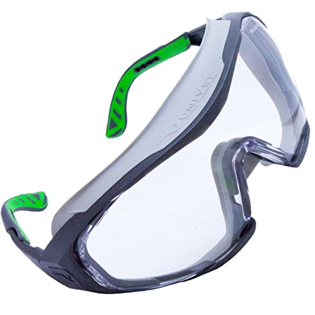 花粉+紫外線対策アイウェア【UNIVET 6X1CLR 】医療用保護メガネ