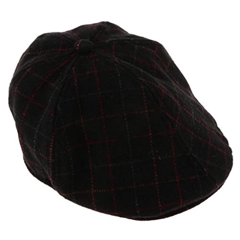 B Blesiya 子供 ベレー帽 帽子 キャップ アウトドア ハンチング フラットキャップ 全4色