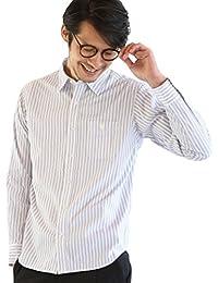 (コーエン) COEN リバーストライプレギュラーカラーシャツ 75106028012