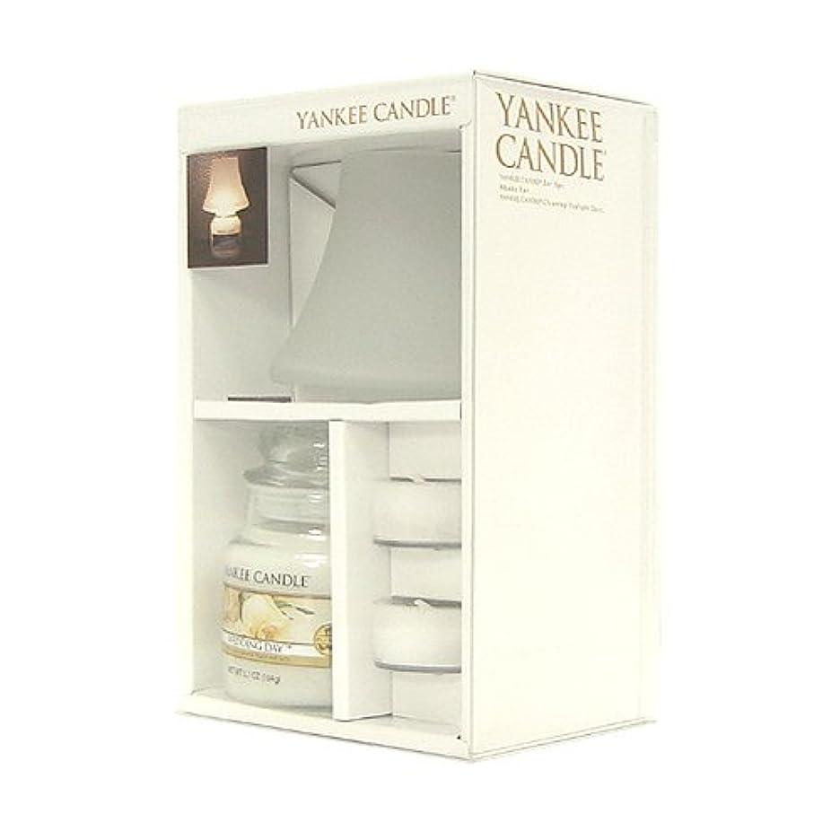 浸食バレル無効YANKEE CANDLE ヤンキーキャンドル ネオシェードSキャンドルセット ウェディング