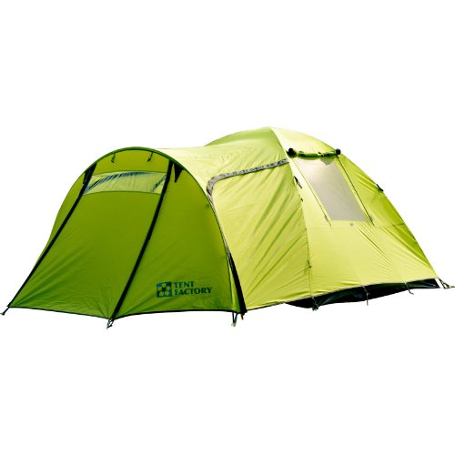 テントファクトリー グリーンサイドドームテント EX4 3-4人用