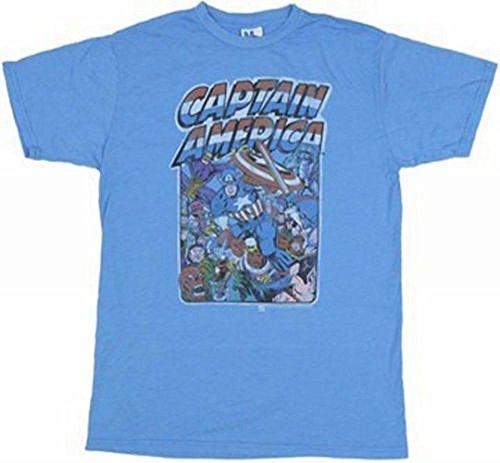 キャプテンアメリカTシャツ ジャンクフード