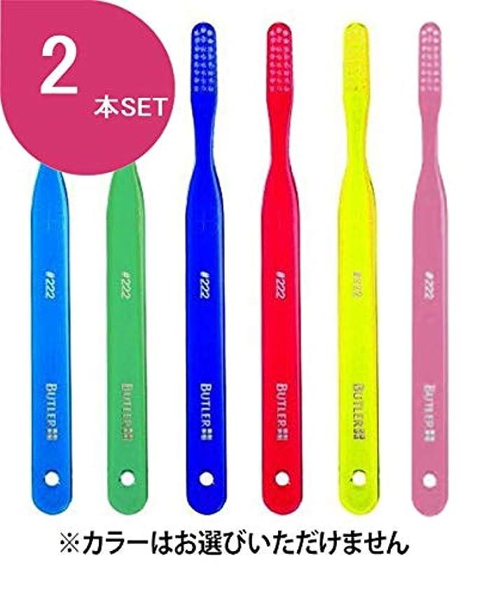 キッチン弱点バイソンサンスター バトラー歯ブラシ 2本 #222