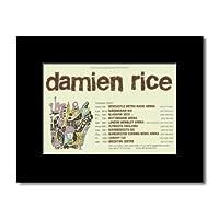 DAMIEN RICE - UK Tour 2007 Mini Poster - 21x13.5cm