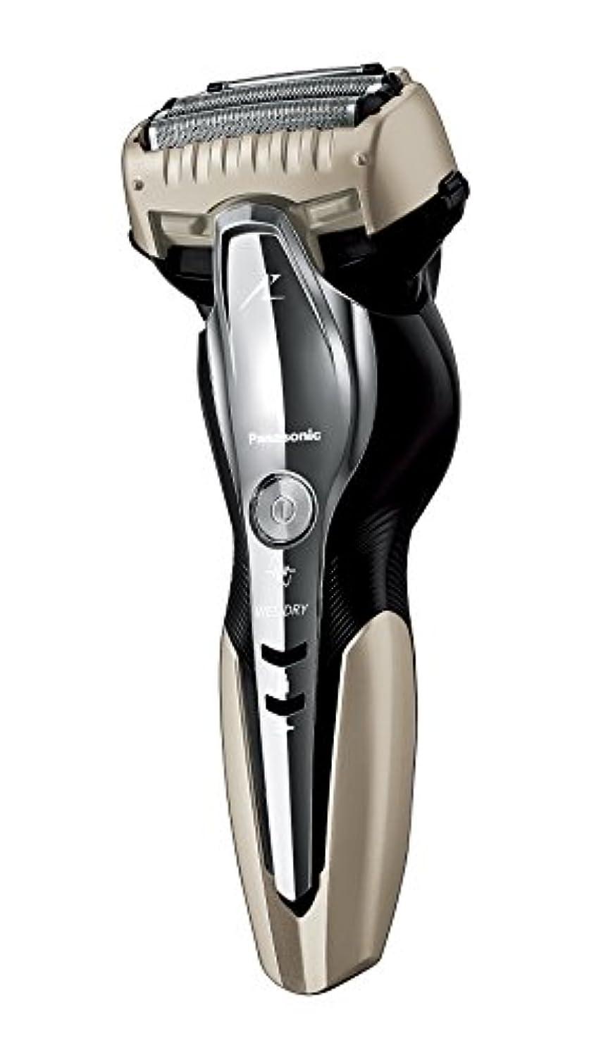 ズボンクール延期するパナソニック ラムダッシュ メンズシェーバー 3枚刃 お風呂剃り可 ゴールド調 ES-ST8N-N