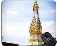 滑り止めのゴム製賭博のマウスパッド、Phraその仏像の彫刻のオフィスのマウスパッド