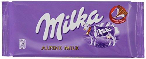 ミルカ アルペンミルク 3 枚セット Milka Alpine Milk 3 x 100g 【並行輸入品】【海外直送品】