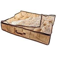 12Pairs Shoes Organizer Holder Fabric Bag Intake Under Bed/Closet Storage Box by lotmusic