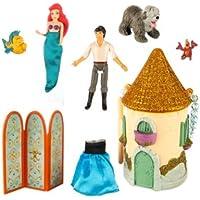 ディズニー(Disney)US公式商品 リトルマーメイド アリエル Ariel プリンセス おもちゃ 玩具 トイ 10cm(高さ) [並行輸入品]