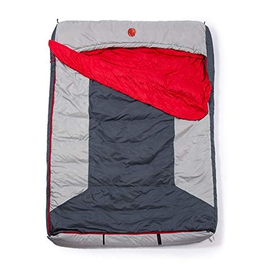 抽象化キュービック病なOmniCore Designs Multi Down Hooded Rectangular Cold Weather Sleeping Bag, Temp: (-10F to 30F) Sizes: (Reg, Tall & Double Wide) Accessories: 4pt. Compression Stuff Sack and 110L Mesh Storage Sack [並行輸入品]