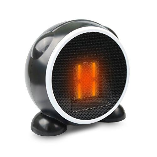 セラミックファンヒーター BEQOOL 500W 小型 暖房器 転倒off機能搭載 コンパクト 小型ヒーター 手を暖め 安心安全 トイレ/脱衣所/オフィス/書房/キッチンなど対応 PSE認証済み