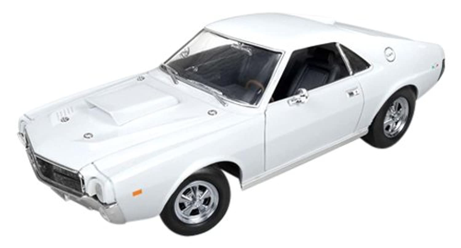 American Muscle 1/18 AMC AMX Hurst S/S 1969 フロストホワイト 完成品