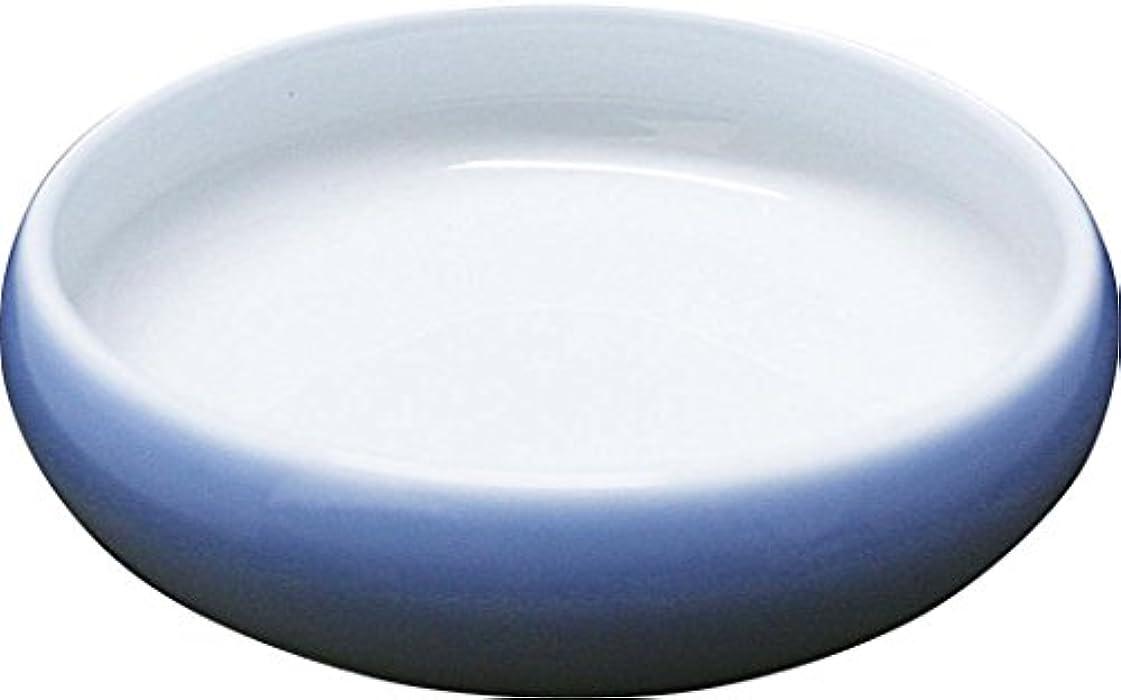 火山学者ブラウン時刻表アメックス熊本 夢食器虹彩(レインボー) 5寸鉢 NO.3 淡ブルー 【乾燥機OK】 【食洗機OK】 【電子レンジOK】
