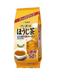 伊藤園 ワンポットほうじ茶 ティーバッグ 50袋