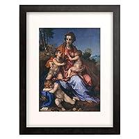 Sarto, Andrea del (Andrea d´Agnolo),1486-1530 「Caritas. 1518/19」 額装アート作品