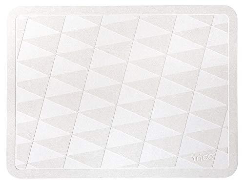 trico 珪藻土 バスマット 48cm × 36cm グレー CTZ-1-01