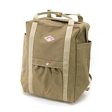 DANTON ダントン COTTON CANVAS UTILITY BAG[JD-7071SCV] BEIGE