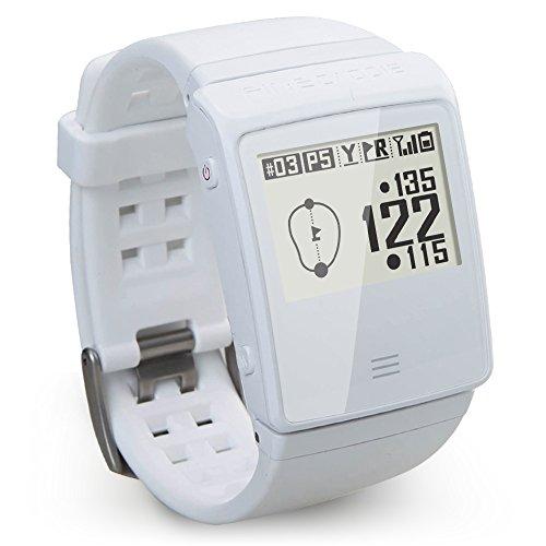 ゴルフナビ ゴルフGPS 音声案内 クリップ・腕時計型 ツーウェイ ファインキャディ(FineCaddie) UP505 ホワイト