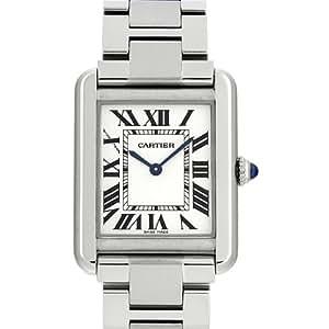 [カルティエ] CARTIER 腕時計 タンクソロ W5200013 SS/SM シルバー レディース 新品 [並行輸入品]