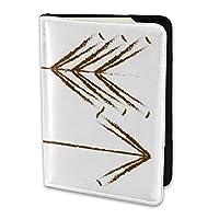 UDDesign 2つ 矢印 パスポートカバー 旅行 旅行用品 パスポート入れ パスポートケース カバー カードケース カラフル メンズ レディース 海外旅行グッズ 旅行便利グッズ