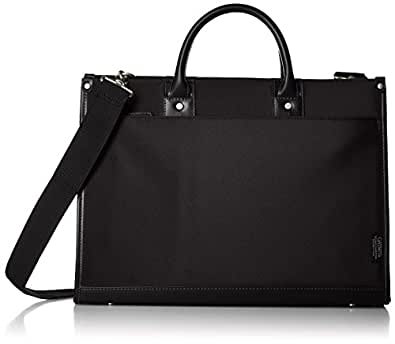 [ギャッツビー] GATSBY ビジネスバッグ A4サイズ 撥水加工 GB301 BK (ブラック)