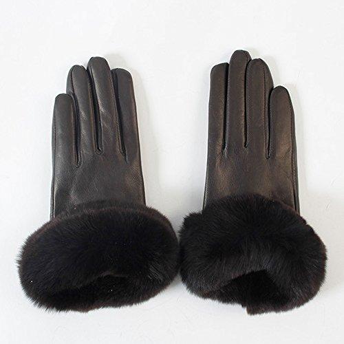 (ジルスチュアート) JILL STUART ACC Women's Sheepskin Gloves GBN1022H ラムスキン手袋 女性手袋 冬の手袋 ファッション手袋 女性のファッション用品 (ブラウン)